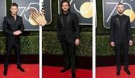 Altın Küre Ödüllerinde Cinsel İstismara Simsiyah Giyinerek Tepki Gösteren 36 Ünlü Erkek