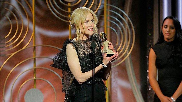 TV Mini Dizi En İyi Kadın Oyuncu: Nicole Kidman