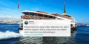 #VapurumuGeriVer: 'İBB Kâr Hesabı Yapıyor' Diyen Vatandaşlar Adalar-Beşiktaş Seferlerinin Yeniden Başlamasını İstiyor