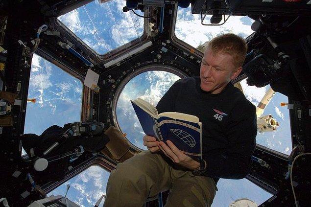 Tim Peake -185 gününü uzayda geçiren ünlü İngiliz astronot- testi geçti. Sıra sizde!