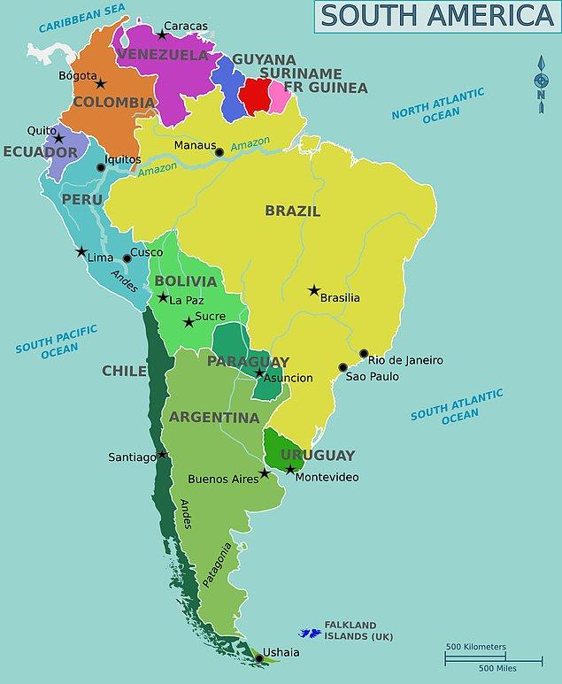 Güney Amerika!