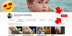 Minik Eren Lösemiyi Yenecek! İşte Karşınızda Dünyanın En Tatlı Youtuber'ı: Mahmut Eren İmadoğlu