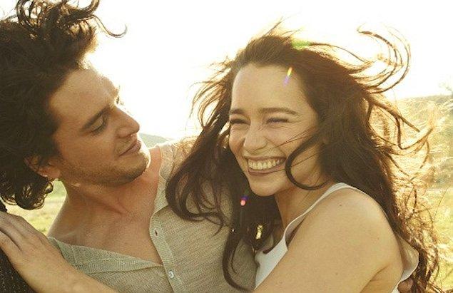 Senaryodaki bu yakınlaşmadan çok daha öncesinden beri Emilia ve Kit'i bir arada görmeye alışkınız. Onlar ayrılmaz bir ikili gibiler!