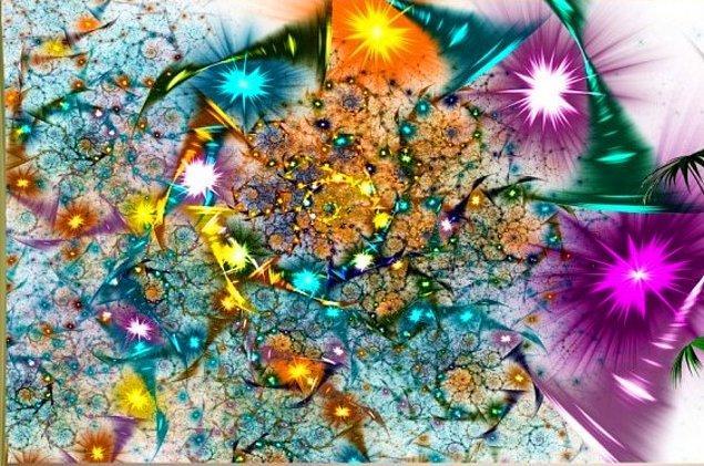 4. Bu rengarenk tablo sende nasıl bir his uyandırıyor?