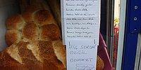 Hem Dolabının, Hem Gönlünün Kapısı Açık! Bakkaldan İzinsiz Ekmek Alan Öğrenciye: 'Sorun Değil, Devam Et'
