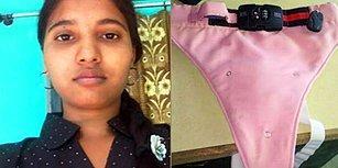 Hindistan'da Kadınların Umudu Olan Kurşun Geçirmez, Bıçakla Kesilemez Anti-Tecavüz İç Çamaşırı