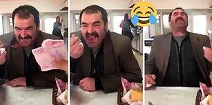 200 Lira Karşılığında Bir Kaşık Acı Pul Biber Yiyen Adamın Güldüren Tepkisi