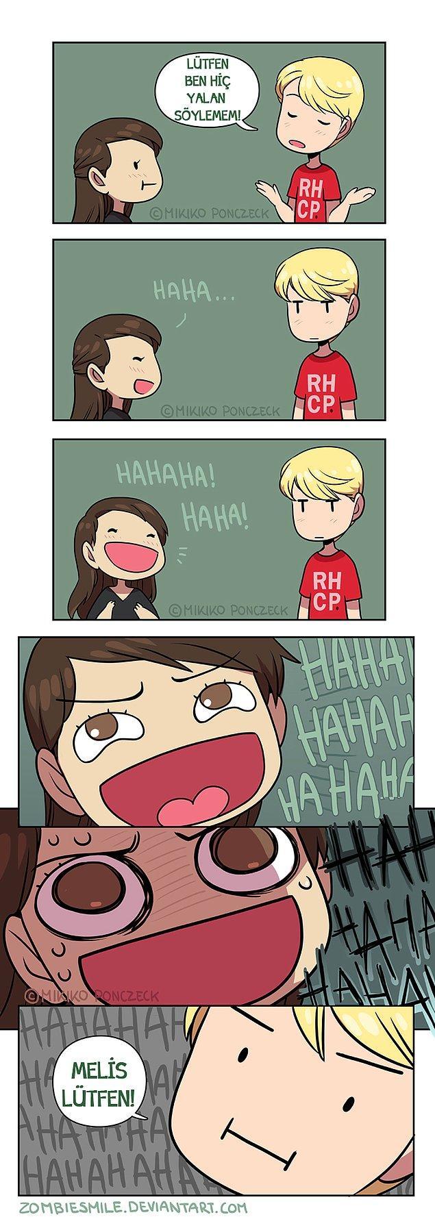 15. Hahahaha bazen sadece gülersin...