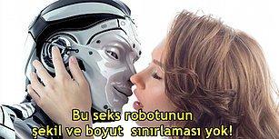 Dünyanın İlk Kadın Seks Robotundan Sonra Biyonik Penise Sahip Erkek Versiyonu da Kapıda!
