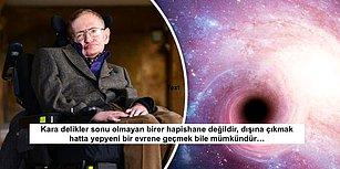 Yine Zekâsına Hayran Bıraktı! Stephen Hawking'den Akıllara Kazınacak Depresyon Benzetmesi
