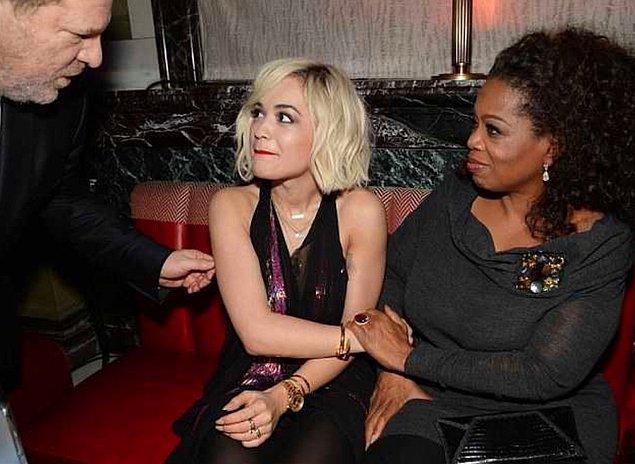 İddiasına göre Weinstein, Kadian Noble'a kariyeriyle ilgili boş vaatlerde bulundu ve kadını Fransa'daki oteline davet etti. Yine Kadian'in iddiasına göre Weinstein burada kendisine tecavüz etti.