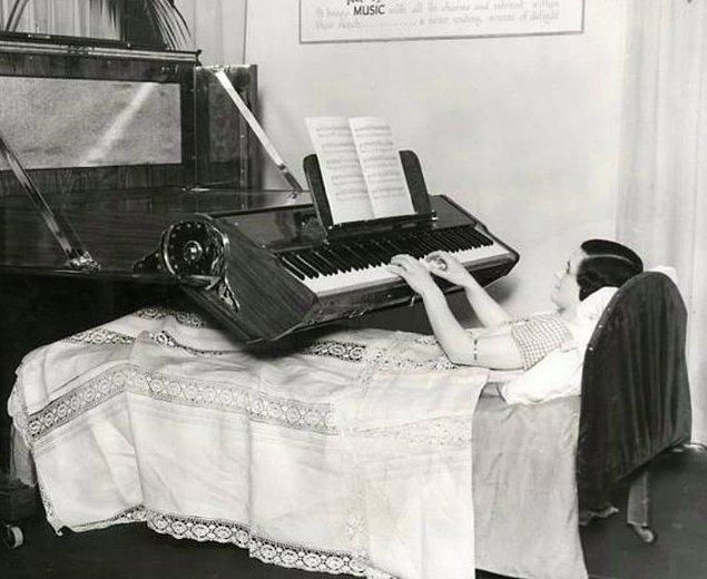 7. Yatak piyanosu