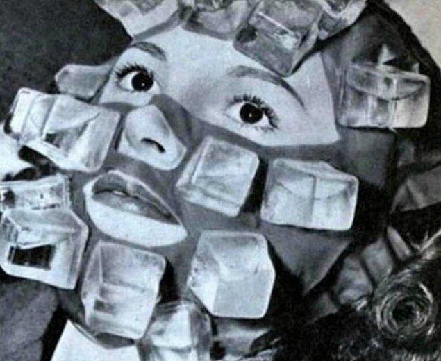 9. Buz maskesi