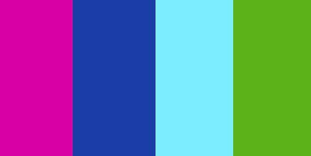 8. Bu renkleri karıştırdığında ortaya hangi renk çıkar?