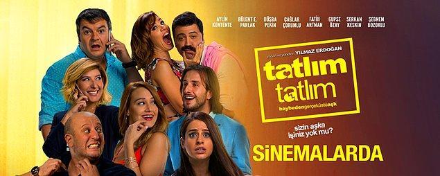 2017 yılında Yılmaz Erdoğan'ın senaryosunu yazdığı 'Tatlım Tatlım' filminde Büşra Pekin, Şebnem Bozoklu, Bülent Emrah Parlak, Çağlar Çorumlu ve Serkan Keskin'le rol aldı.