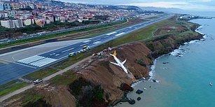 Facianın Eşiğinden Dönüldü: Trabzon'da Pistten Çıkan Uçakla İlgili Soruşturma Sürüyor