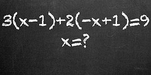 12 Yaş Seviyesindeki Bu Basit Matematik Testinde Full Yapabilecek misin?