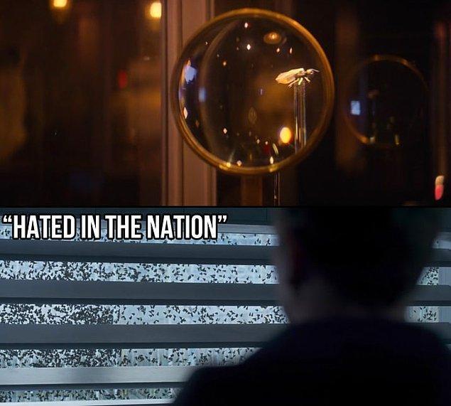 """20. 3. sezon """"Hated in the Nation"""" bölümündeki arılardan biri de gösterilmekte."""
