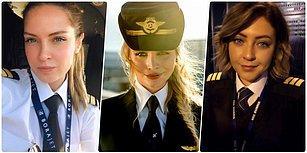 Onlar Gökyüzünün Kanatsız Melekleri! İşte Karşınızda Instagram Fenomeni Türk Kadın Pilotlarımız ✈️