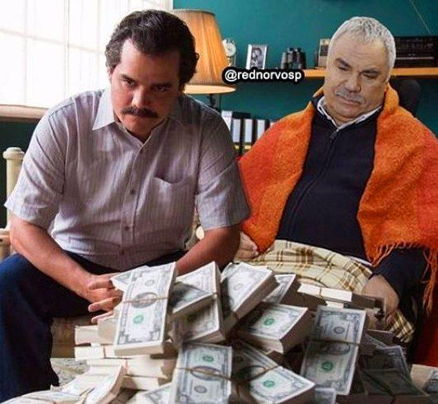 Bu kadar parayı ne yapacağız Ali Rıza, ağzımızın tadı kaçmasın?