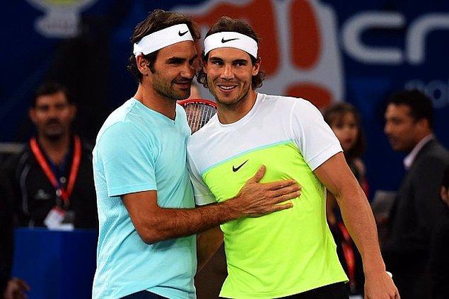 8. Peki Nadal-Federer müsabakası desem? Gecenin 3'ünde bile denk gelse soluksuz izlenir.
