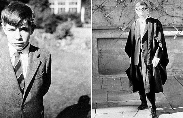 """""""Hawking bu hastalıkla 55 yıl yaşadı"""""""