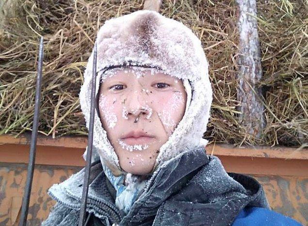 Zaten birçok şey donmuş durumda!