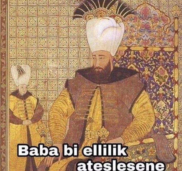 Osmanlı'da şehzade olmak. :)