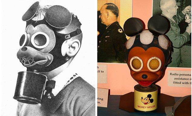 2. Mickey Mouse Gaz Maskesi