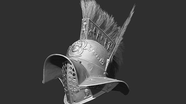 6. Murmillo Gladiator Maskesi