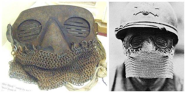 9. I. Dünya Savaşı Tank Maskesi