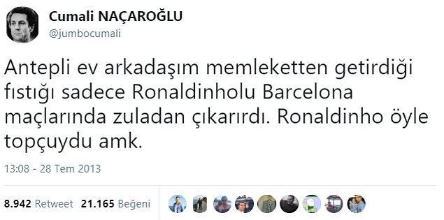 Ronaldinho'yu nasıl anlatırsın deseler... 👇👏