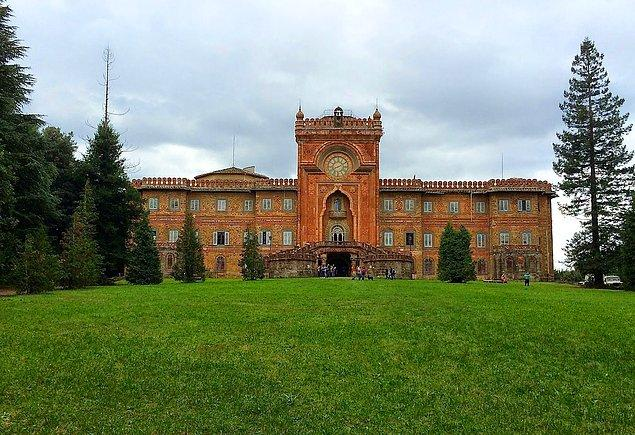 Sammezzano Kalesi: Toskana