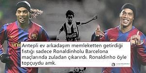 O Sahadayken Maçı Değil Onu İzlerdik! Gelmiş Geçmiş En Özel Topçulardan Ronaldinho Futbolu Bıraktı