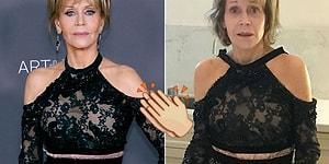 Bu Özgüven ve Samimiyetten Hepimize Lazım! Akşam Kırmızı Halıda Güzelliğiyle Dikkat Çeken Jane Fonda'nın Sabahına Yaptığı Cesur Paylaşım