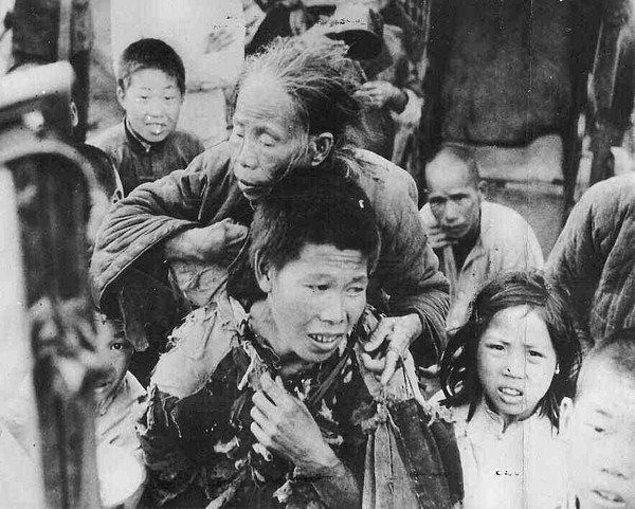 6. Büyük Çin Kıtlığı: 43 Milyon İnsan Öldü!