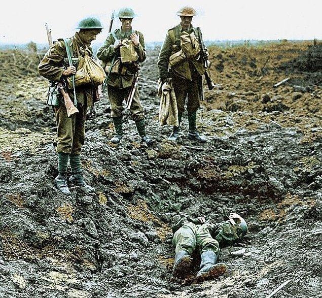 3. Birinci Dünya Savaşı: 65 Milyon İnsan Öldü!