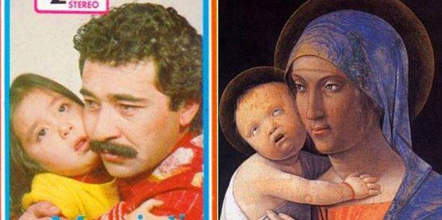 Mersinli İsmail-Yetim Koyma - Andrea Mantegna-Madonna&Child