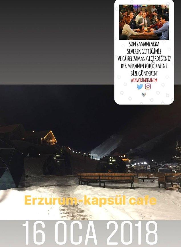 17. Kapsül Cafe / Erzurum