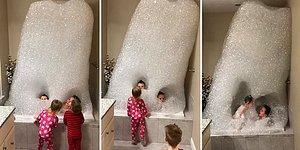 Babaya Çocuk Emanet Edilirse: Banyoda Çocuklarını Yutan Dev Kabarcıktan Canavar Yapan Adam