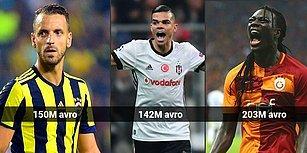 İlk 20'de Türkiye'den 3 Kulüp Var! Avrupa Futbolunun En Borçlu Üçüncü Ülkesi Türkiye