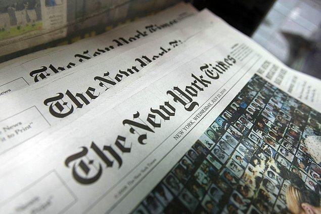 Trump'ın birincisi New York Times