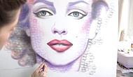 Sadece Öpücük Atarak Dünyanın En Güzel Portrelerini Yapan Yetenekli Kadın