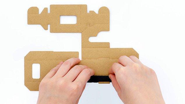 Şimdilerde ise Switch için, Labo adı verilen kartonları satışa sunmaya hazırlanıyor. Peki bu kartonlar ile neler yapılabilecek?