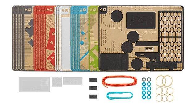 Switch sahipleri, kontrolcülerini bu kartonlarla birleştirerek, destekleyen oyunlarda kendi aksesuarlarını yaratma şansına sahip olacak.