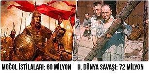 İnsanın İnsana Yaptığını Hiçbir Şey Yapamaz! Dünya Tarihinde En Fazla İnsanın Öldüğü 10 Facia