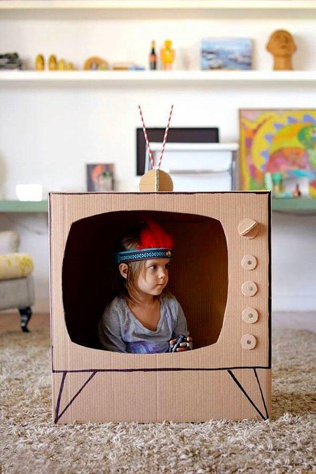 7. Televizyon kimin umurunda: Kendin yap kendin oyna!