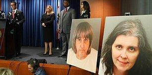 Gerilim Filmini Aratmayacak Olay! California'da 13 Çocuğu Yatağa Zincirleyip Esir Tutan Çift Yakalandı