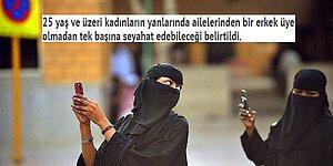 Suudi Arabistan'da 1 Sene İçinde Kabul Edilip Kendi İçinde Çağ Atlamasını Sağlayan Kadın Hakları