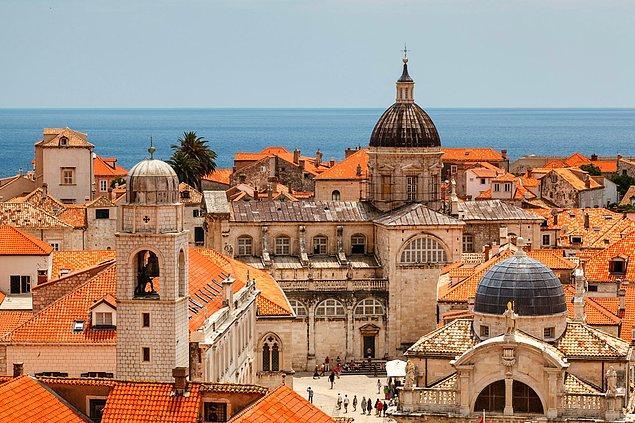 6. Dubrovnik, Hırvatistan